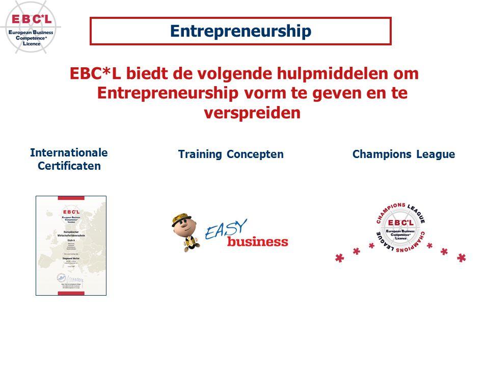 Entrepreneurship EBC*L biedt de volgende hulpmiddelen om Entrepreneurship vorm te geven en te verspreiden.