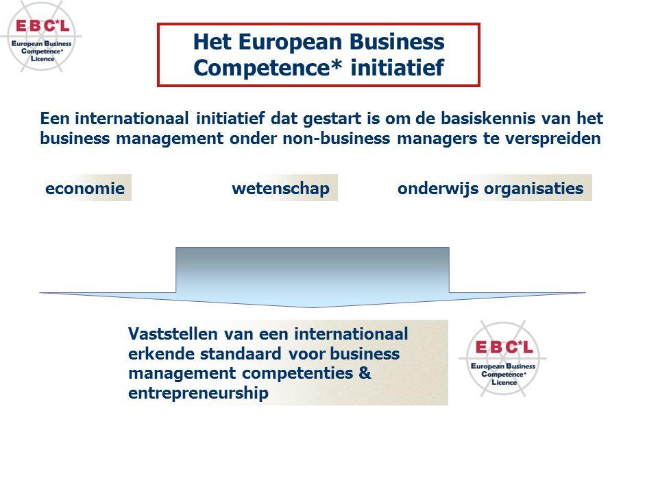 Het European Business Competence* initiatief