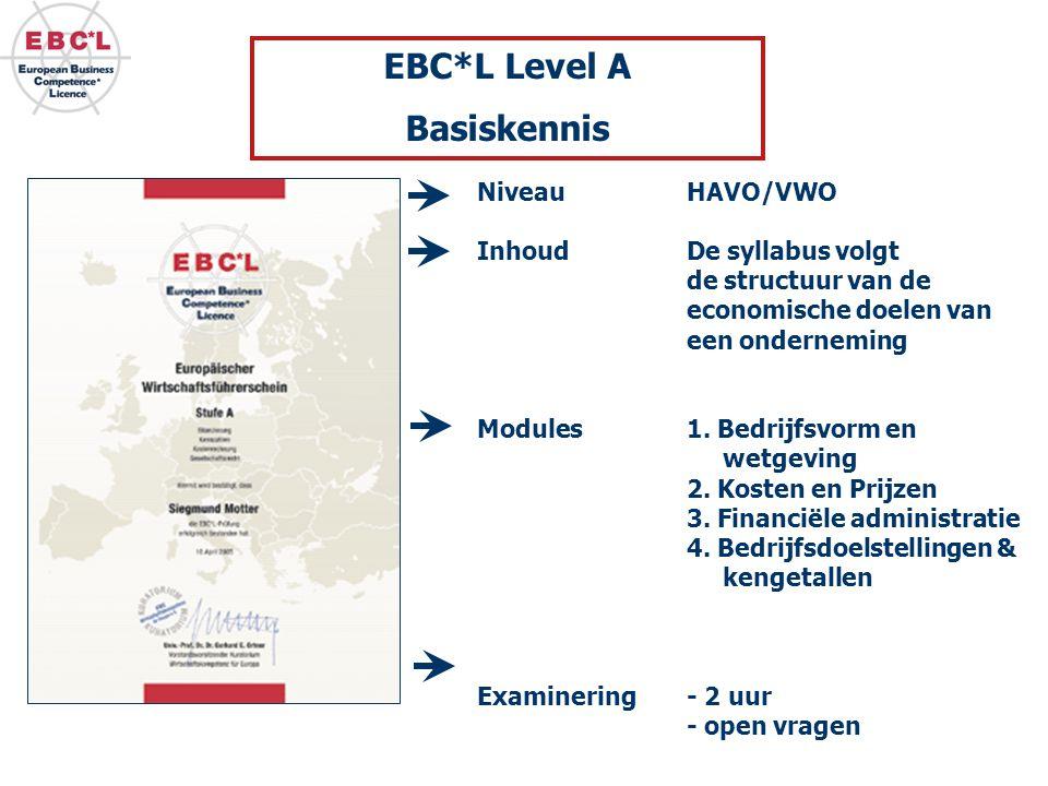 EBC*L Level A Basiskennis