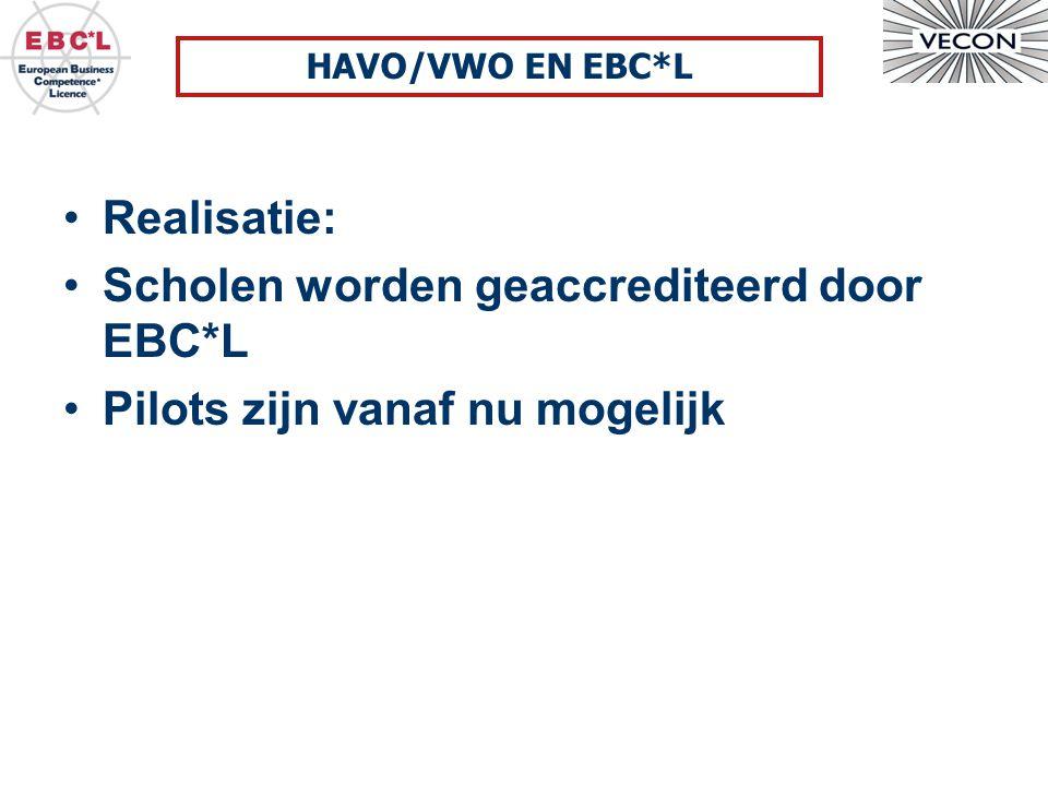 Scholen worden geaccrediteerd door EBC*L Pilots zijn vanaf nu mogelijk