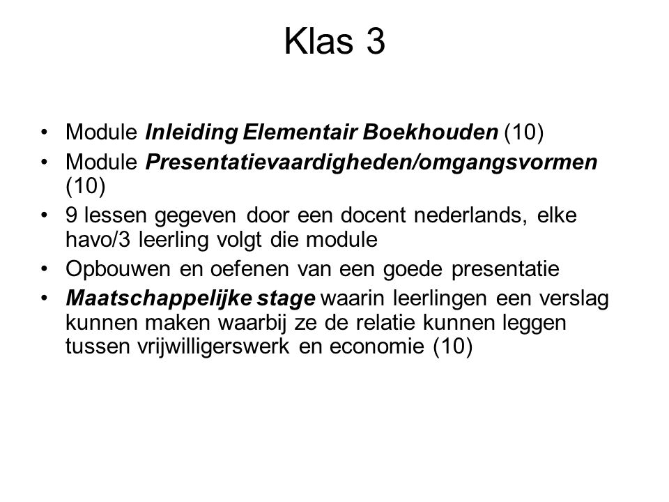 Klas 3 Module Inleiding Elementair Boekhouden (10)