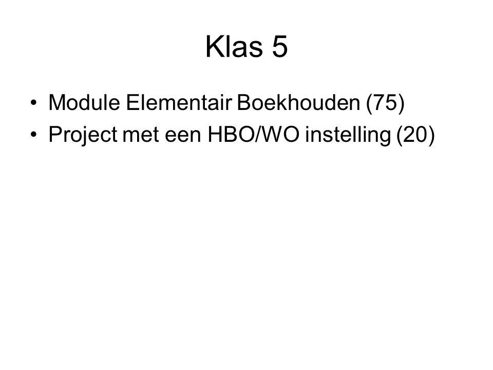 Klas 5 Module Elementair Boekhouden (75)