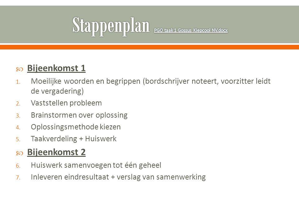 Stappenplan PGO taak 1 Gossus Kiepcool NV.docx