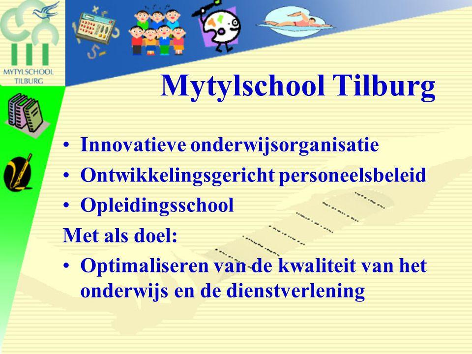 Mytylschool Tilburg Innovatieve onderwijsorganisatie