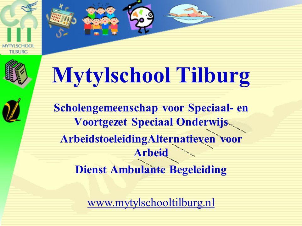 31 mei 2006 Mytylschool Tilburg. Scholengemeenschap voor Speciaal- en Voortgezet Speciaal Onderwijs.