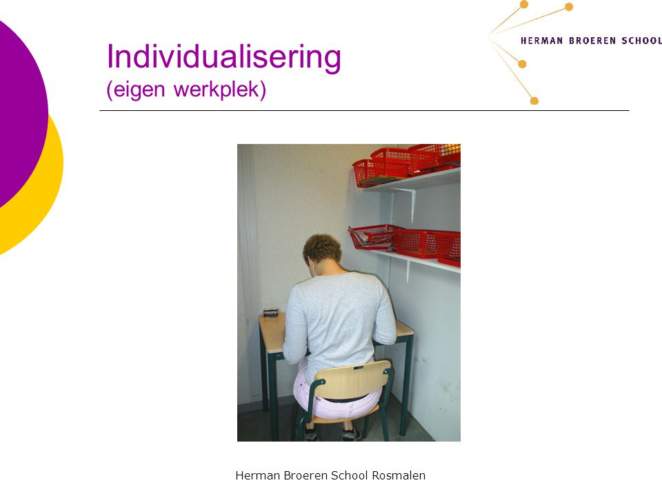 Individualisering (eigen werkplek)