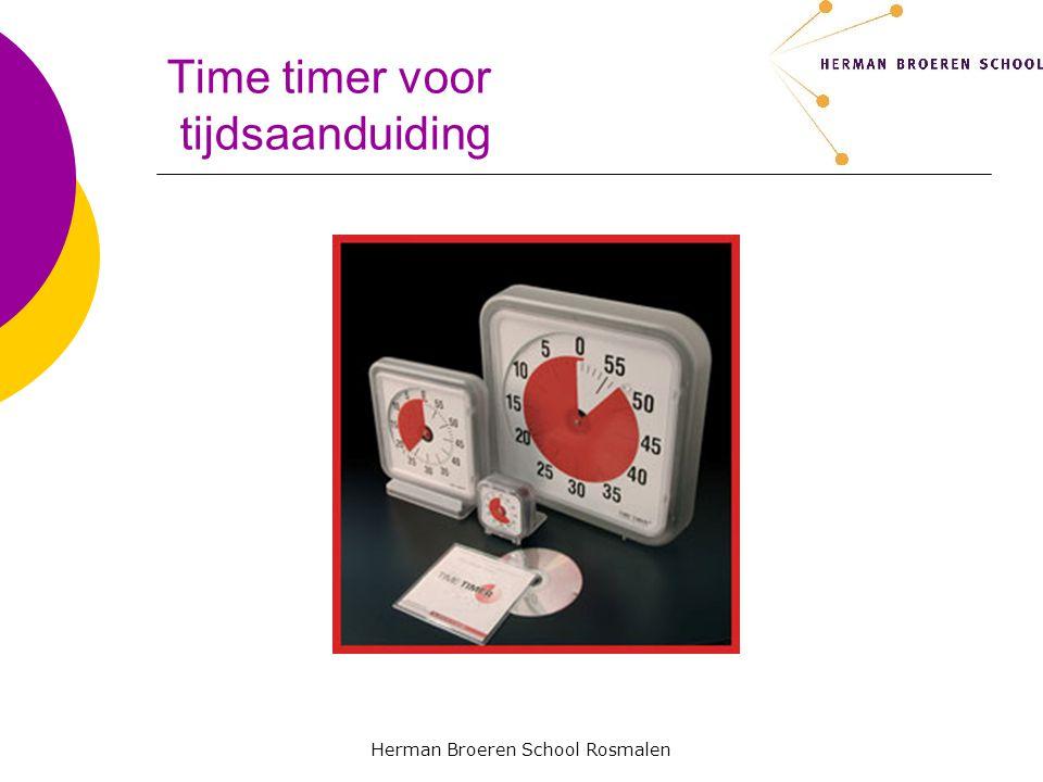 Time timer voor tijdsaanduiding