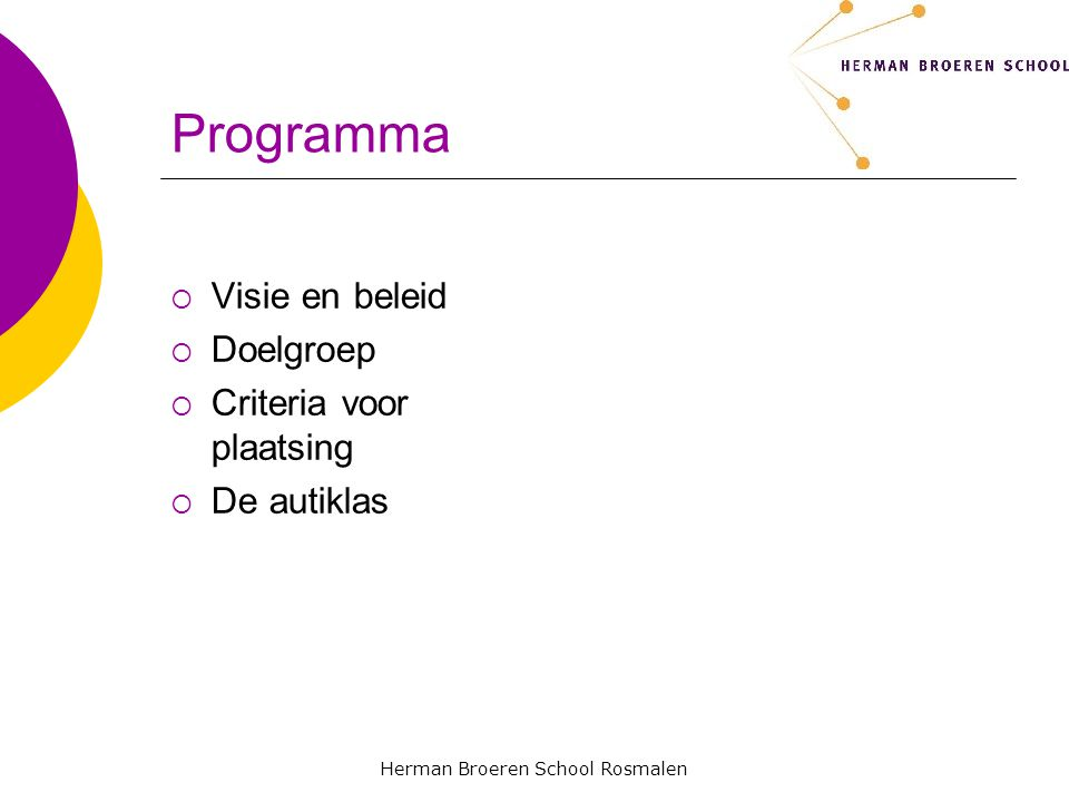 Herman Broeren School Rosmalen