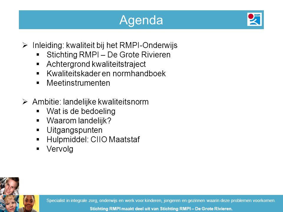 Stichting RMPI maakt deel uit van Stichting RMPI – De Grote Rivieren.