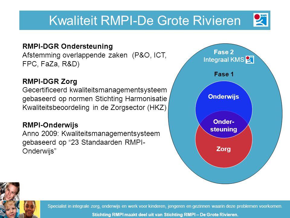 Kwaliteit RMPI-De Grote Rivieren