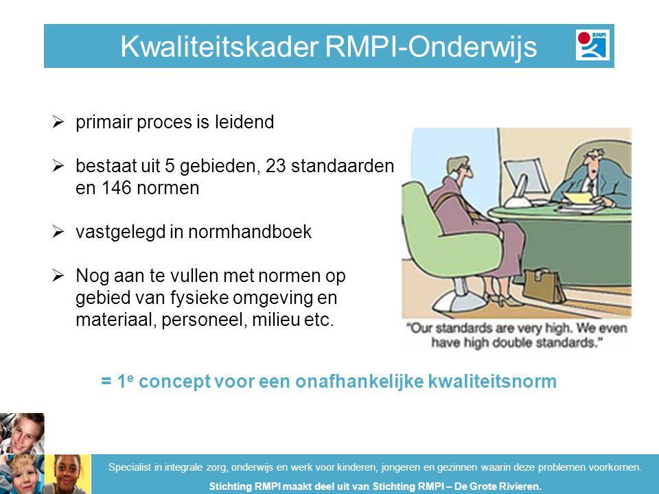 Kwaliteitskader RMPI-Onderwijs