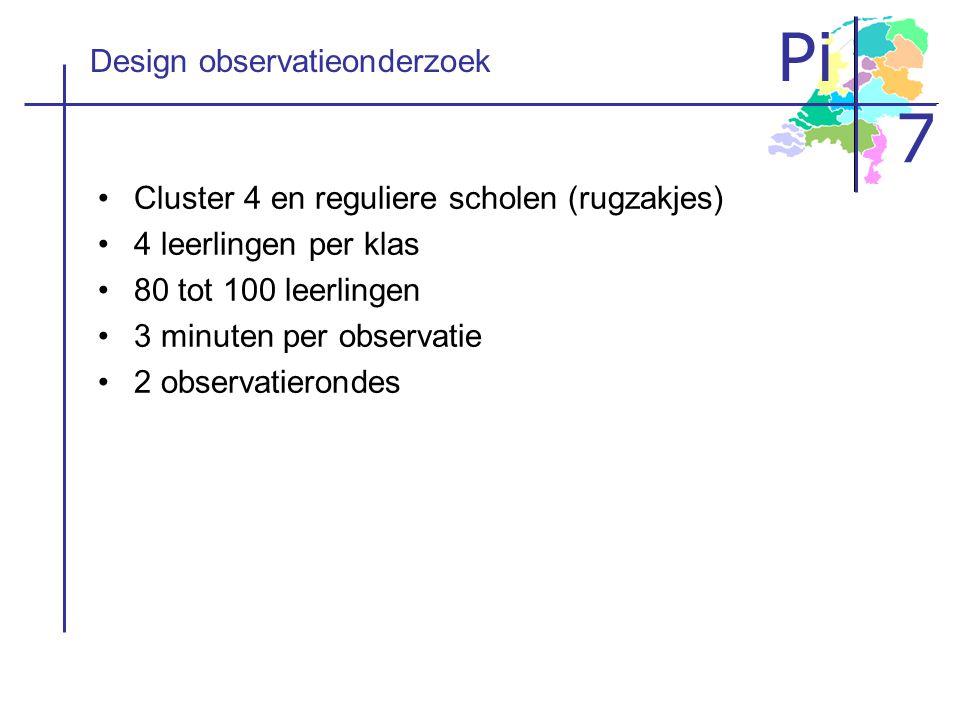 Design observatieonderzoek