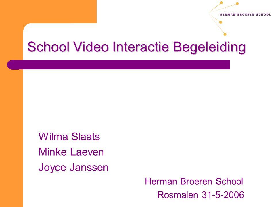 School Video Interactie Begeleiding