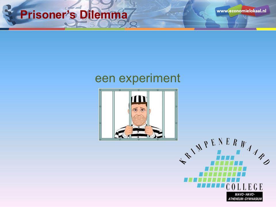 Prisoner's Dilemma een experiment