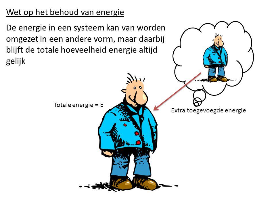 Wet op het behoud van energie