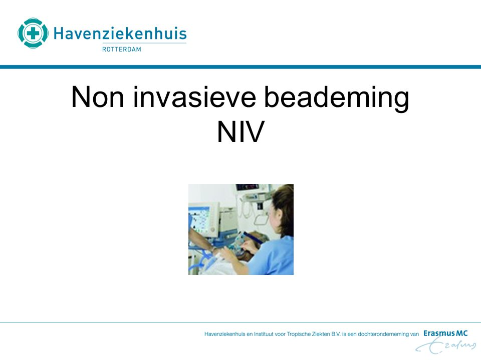 Non invasieve beademing