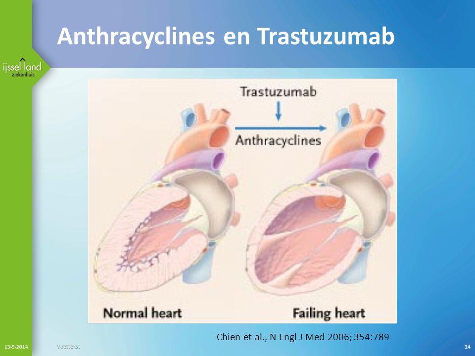 Anthracyclines en Trastuzumab