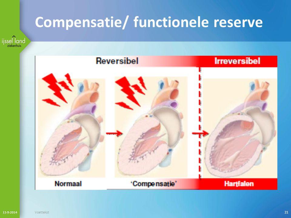 Compensatie/ functionele reserve
