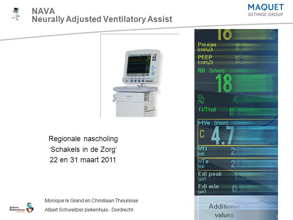 NAVA Neurally Adjusted Ventilatory Assist