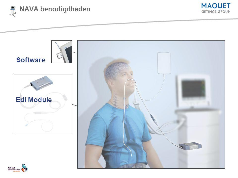 NAVA benodigdheden Software Edi Module Edi Cable Edi Catheter