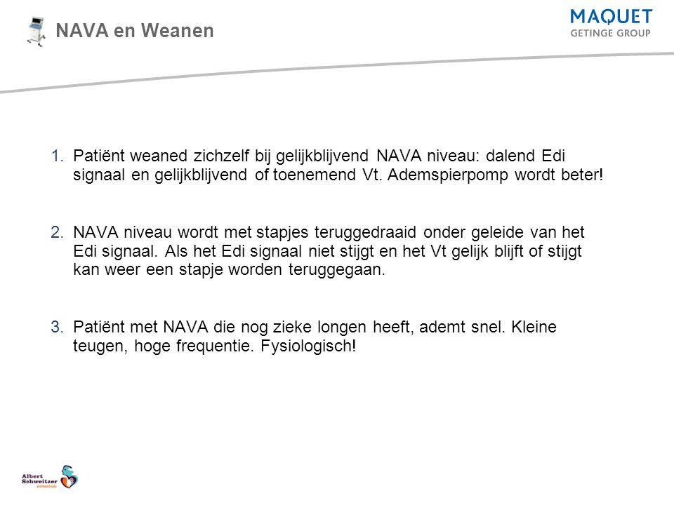 NAVA en Weanen