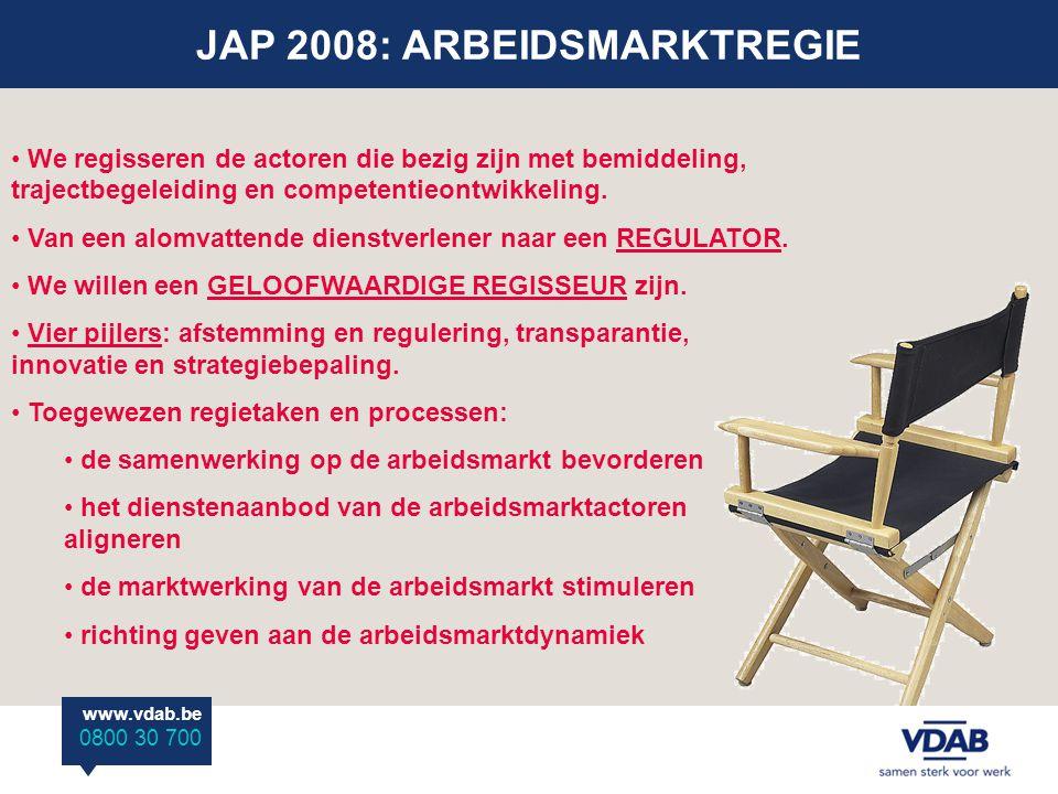 JAP 2008: ARBEIDSMARKTREGIE