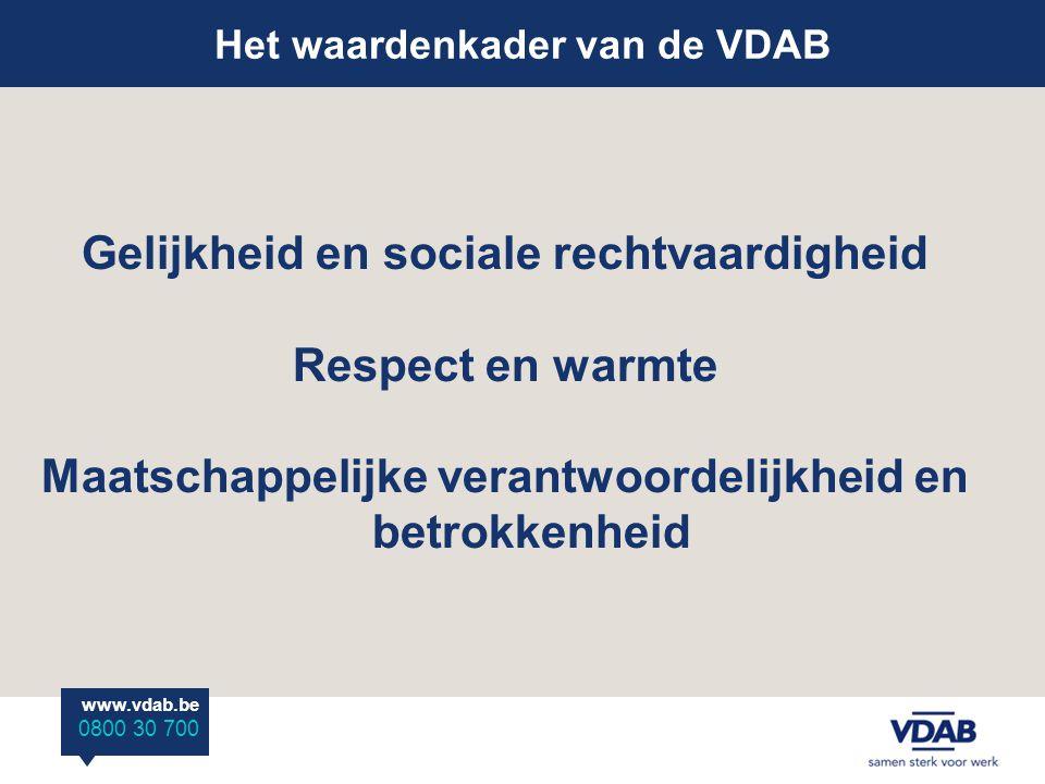 Gelijkheid en sociale rechtvaardigheid Respect en warmte