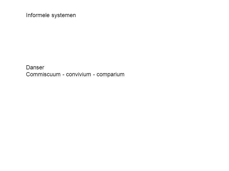 Commiscuum - convivium - comparium