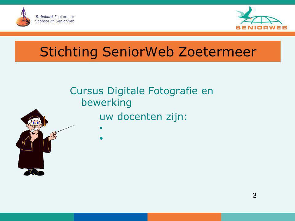 Stichting SeniorWeb Zoetermeer