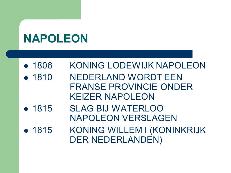 NAPOLEON 1806 KONING LODEWIJK NAPOLEON