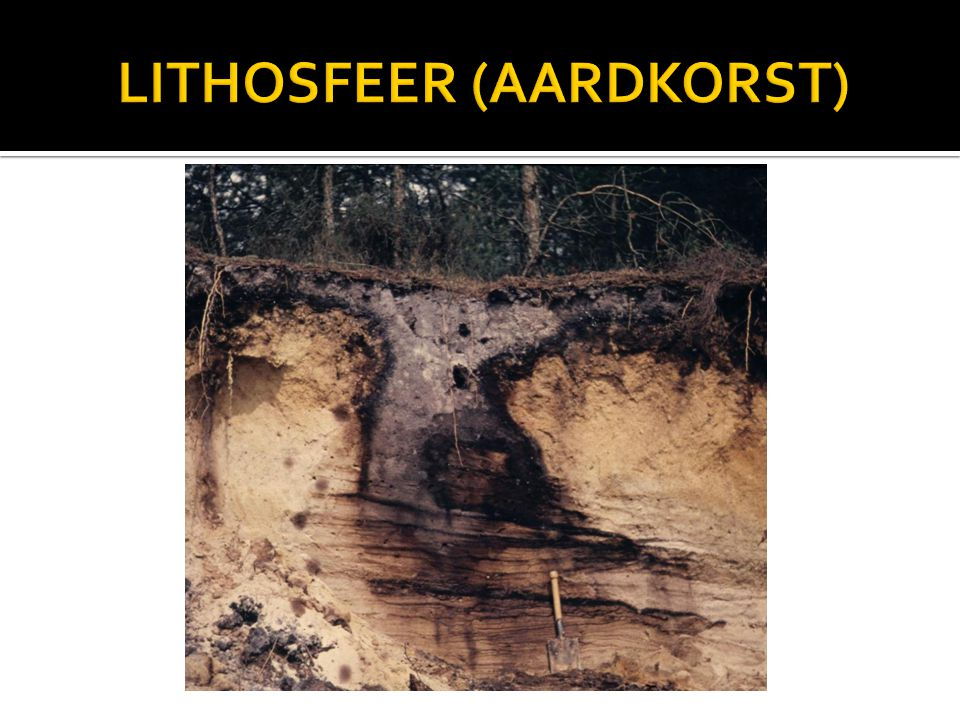 LITHOSFEER (AARDKORST)
