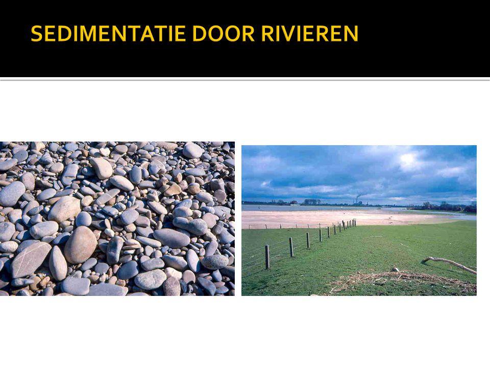 SEDIMENTATIE DOOR RIVIEREN