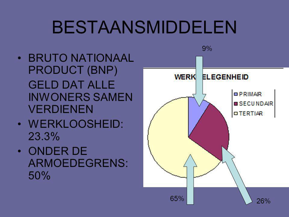 BESTAANSMIDDELEN BRUTO NATIONAAL PRODUCT (BNP)