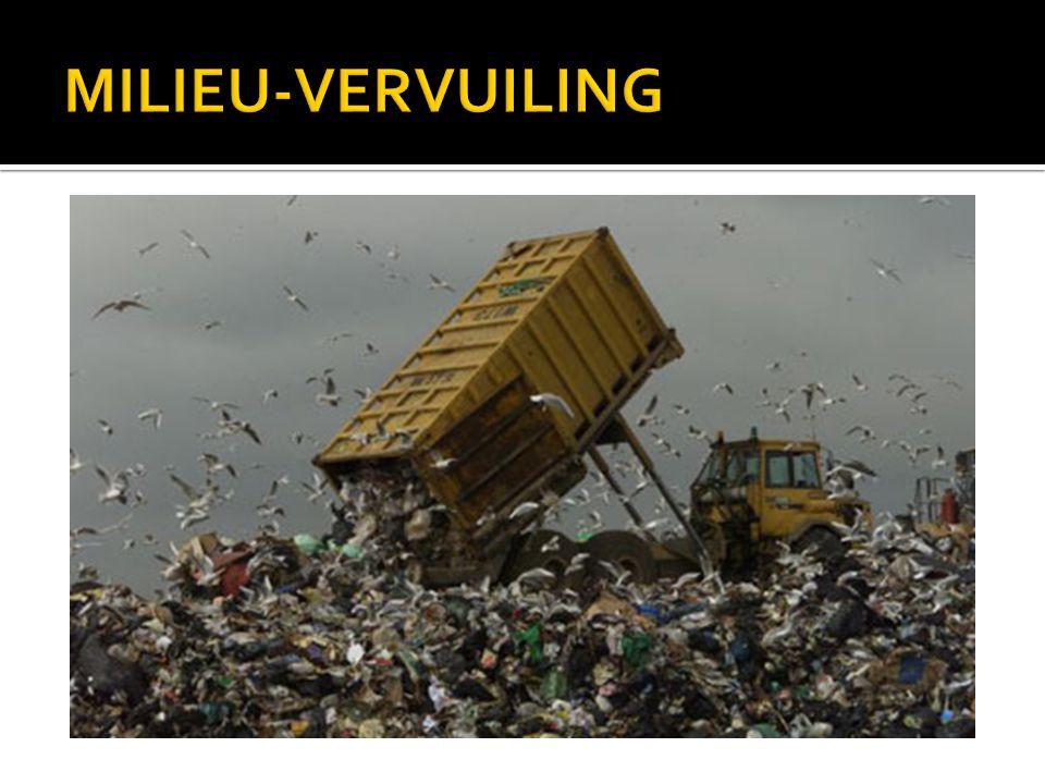 MILIEU-VERVUILING