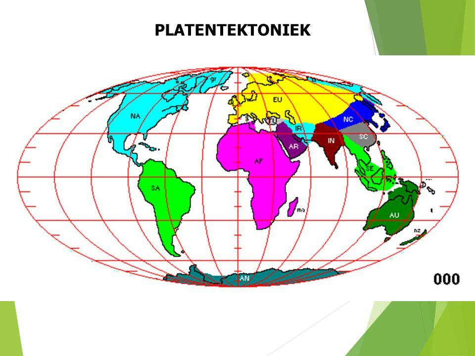 PLATENTEKTONIEK Huidige ligging van de continenten (naar S. Dutch). 19