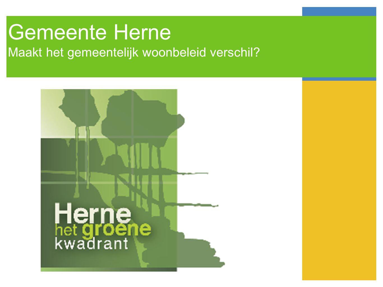 Gemeente Herne Maakt het gemeentelijk woonbeleid verschil