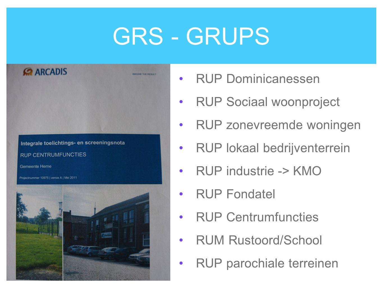 GRS - GRUPS RUP Dominicanessen RUP Sociaal woonproject