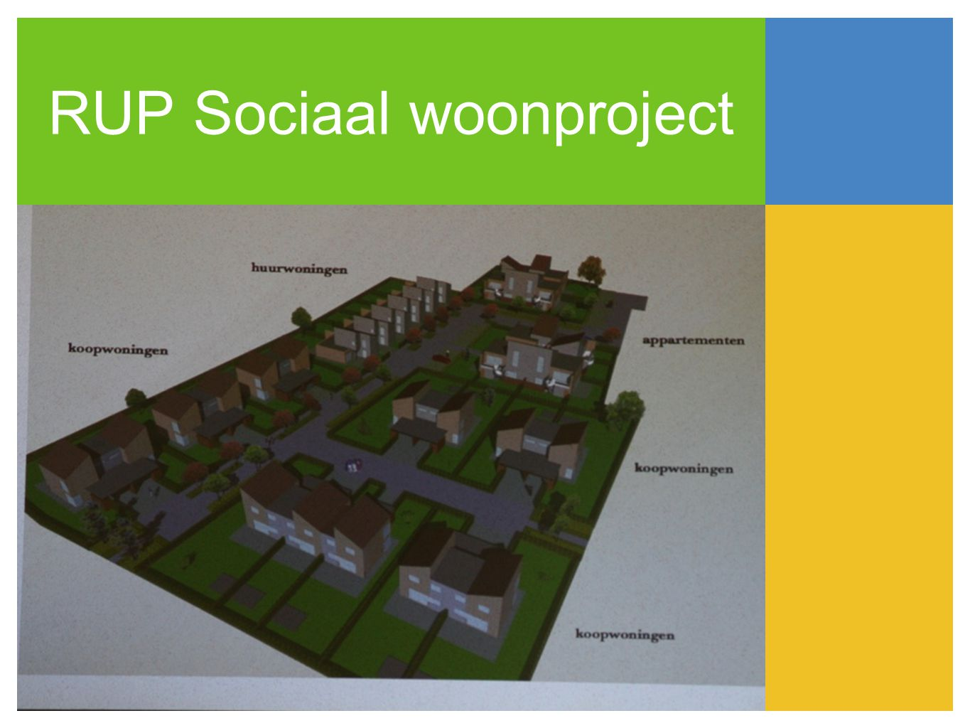 RUP Sociaal woonproject
