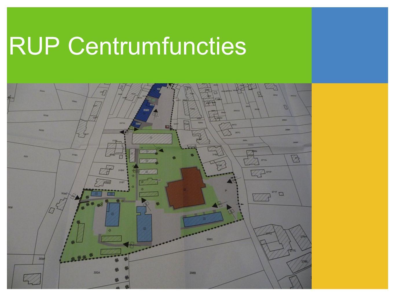 RUP Centrumfuncties