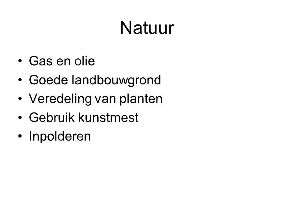 Natuur Gas en olie Goede landbouwgrond Veredeling van planten