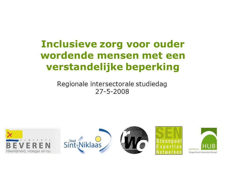 Regionale intersectorale studiedag 27-5-2008