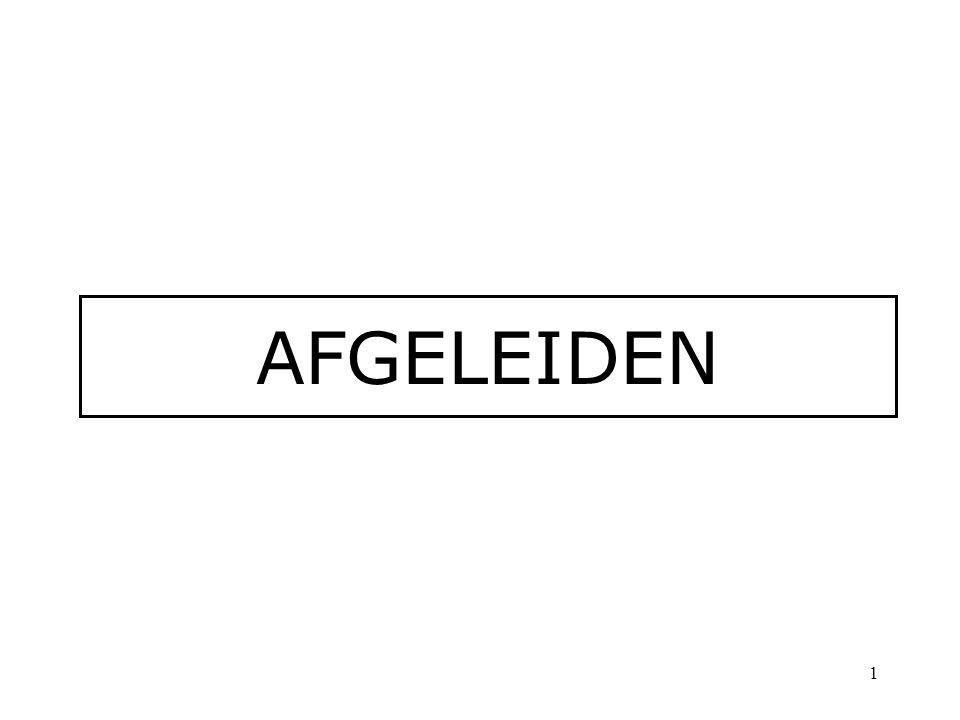 AFGELEIDEN