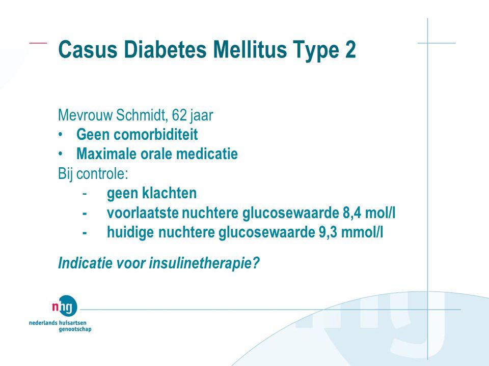 Casus Diabetes Mellitus Type 2