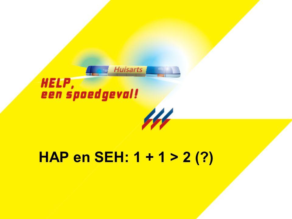 HAP en SEH: 1 + 1 > 2 ( )