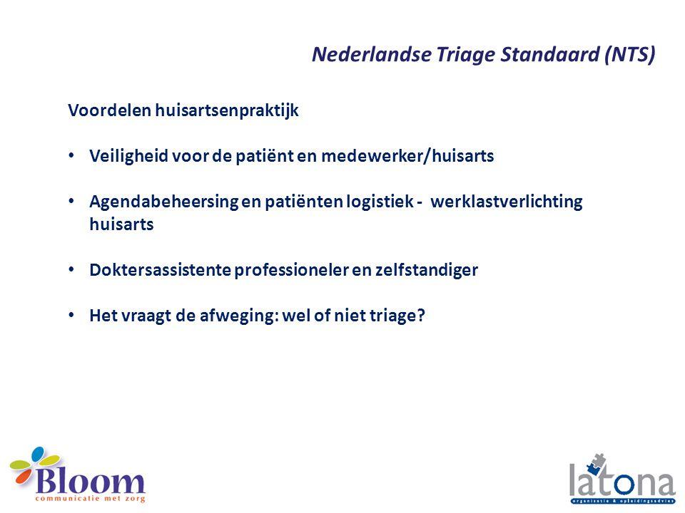 Nederlandse Triage Standaard (NTS)