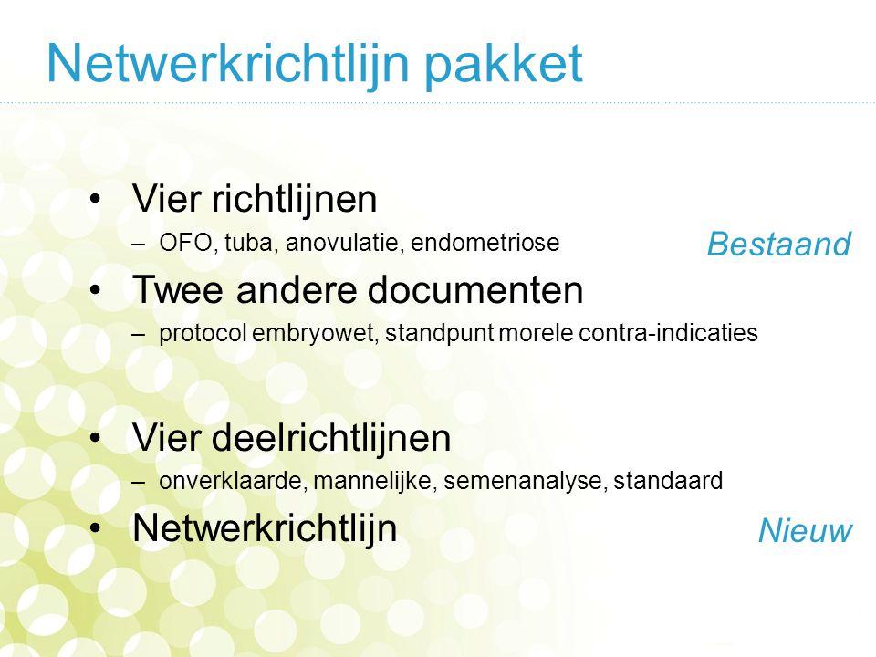 Netwerkrichtlijn pakket