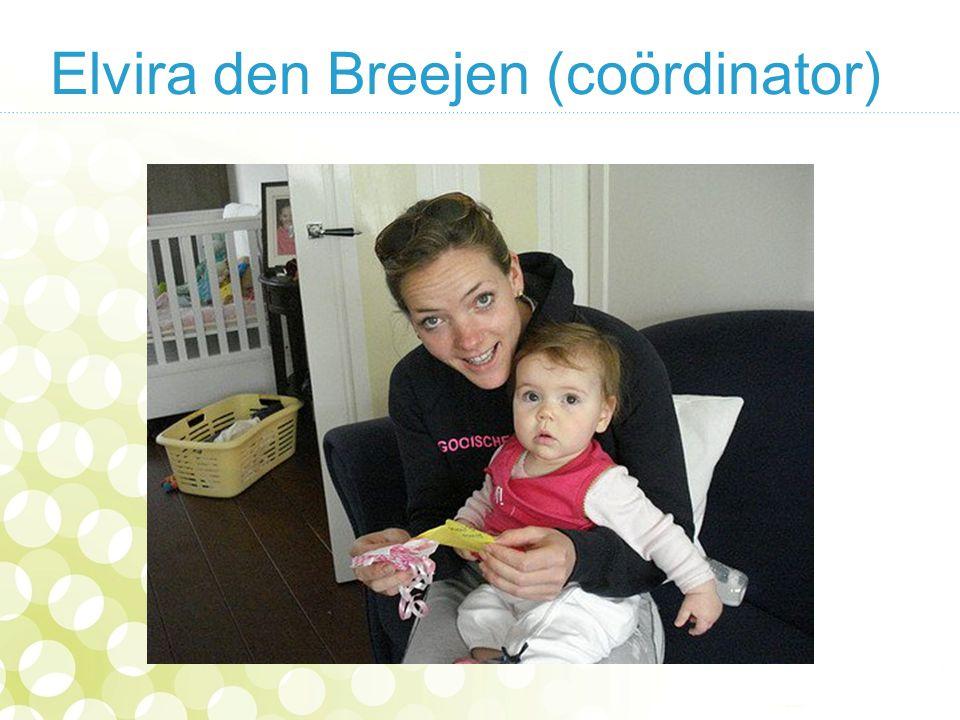 Elvira den Breejen (coördinator)