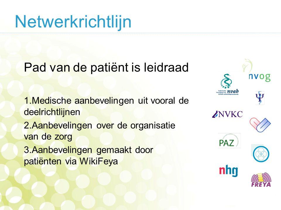 Netwerkrichtlijn Pad van de patiënt is leidraad