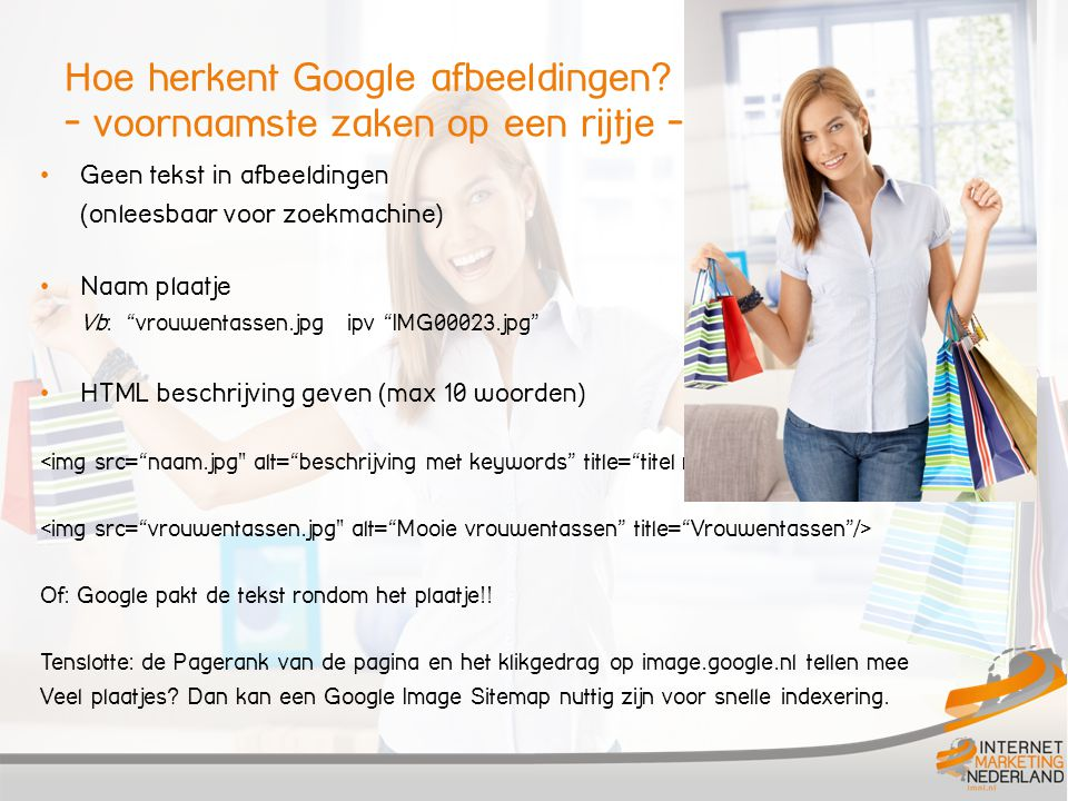 Hoe herkent Google afbeeldingen - voornaamste zaken op een rijtje -