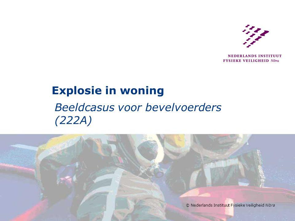 Beeldcasus voor bevelvoerders (222A)